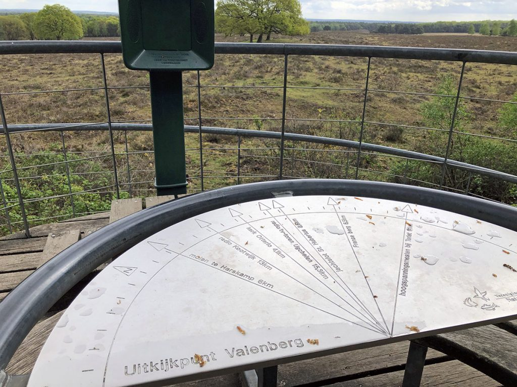 Uitkijkpunt Valenberg op het Kreelsepad Klompenpad